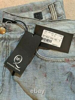 Alexander Mcqueen McQ Jeans Size 30 Men's with Floral Pattern