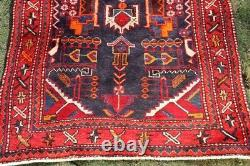 COLLECTORS' PIECE Antique Floral Pattern Sevan Armenian Hall Way Runner