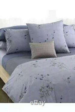 Calvin Klein Bamboo Flowers F/ Queen Duvet Cover and One Standard Sham. New
