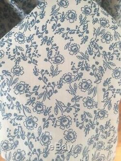 Christy dawn Lincoln Dress In Blue With Floral Pattern