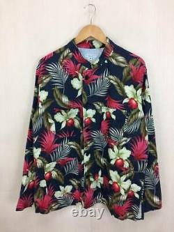 ENGINEERED GARMENTS Authentic Floral pattern Coverall Jacket Navy Size M Used