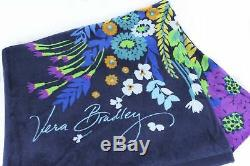 Easter Gift Idea Vera Bradley Beach Towel Midnight Blues NWT Retired Pattern