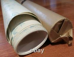 Farrow and Ball Roll of Wallpaper Uppark Floral Pattern Breezy Blue BP 558