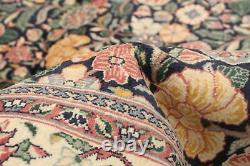 Hand-Knotted Carpet 4'1 x 6'3 Traditional Oriental Wool Area Rug