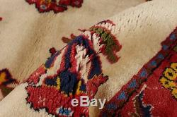 Hand-knotted Carpet 3'3 x 4'6 Traditional Vintage Wool Rug