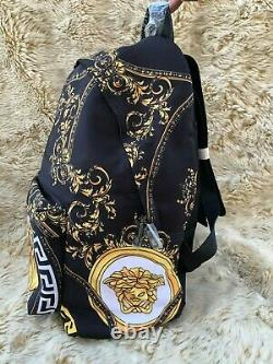 NEWVERSACE Gainni Backpack Black with Patterns