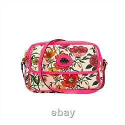 NWT GUCCI Multicolored Floral Pattern Small Shoulder Bag $1500