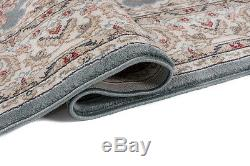Small Medium Extra Large Classical Blue Rug Oriental Pattern New Rugs Soft Pile