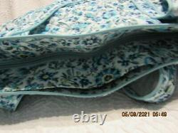 VERA BRADLEY ICONIC VERA TOTE CLOUD VINE PATTERN NEW WithTAGS & BAG