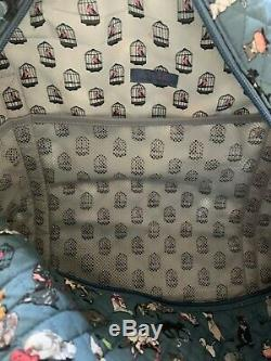 Vera Bradley The Cats Meow Iconic Large Travel Duffle Bag Cat Kitten Pattern